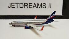 "1/400 AEROFLOT BOEING 737-800WL 2003'S COLORS ""S OBRAZTSOV"" VP-BRF PHOENIX MODEL"