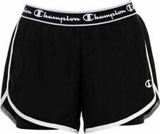 Champion Women Short Training Running Fitness Workout Bermuda 112851-KK001 Black