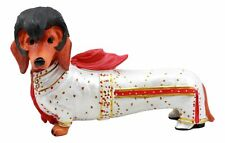 Wiener Doxie Collection King of Rock and Roll Fashionista Dachshund Figurine