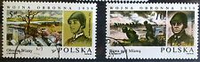 POLAND STAMPS Fi2843-44 Sc2692-93 Mi2991-92 - Defensive War in 1939, 1985, used