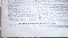 1906 26n Kiel Chirurgische Klinik Universität