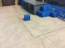 Blue Pallet Stacks Would Suit 1:148 N Gauge Oxford Diecast Diorama