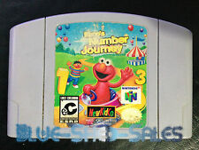 ELMO'S NUMBER JOURNEY (N64) Game cartridge - NTSC