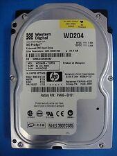 Western Digital 40GB IDE Hard Drive WD204EB-71CPF0 DCM HSCACV2C Tested