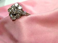 Brillantschliff Echtschmuck im Cluster-Stil mit Diamant