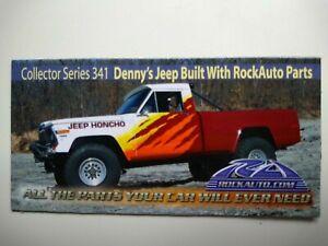 ROCKAUTO ROCK AUTO Collector Series 341 Car Magnet JEEP