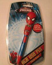 MARVEL ULTIMATE SPIDER-MAN - 8GB USB Spiderman Flash Drive Pen NEW