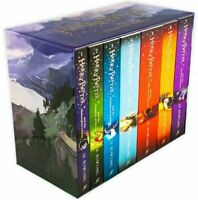 Harry Potter Book Box Set The Complete Collection by J.K. Rowling Paperback Pupl