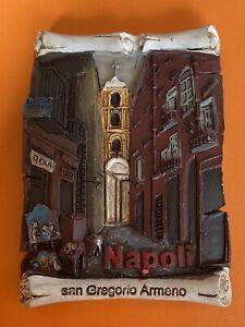 Souvenir Fridge Magnet - Naples Italy 🇮🇹