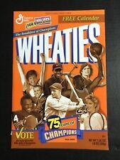 Wheaties 1999 Calendar - 75 Years of Champions Jordan The Last Dance