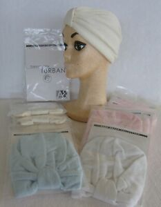 Alan Eaton Terry Cloth Turban Head Wrap-New-Pick Color