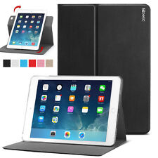 For Apple iPad Air 2 Tablet Poetic Leather Slim 360 Degree Rotary Standing Case