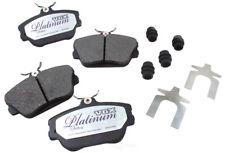 Disc Brake Pad Set-Ceramic Pad Kit with hardware Front fits 2003 Ford Taurus