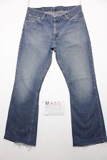 Levi's 516 flare Bootcut verkürzt Jeans gebraucht (Cod.M833) Gr. 50 W36 L36