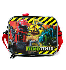 DinoTrux Lunch Bag Insulated Lunchbox, Kids Boys Girls Dreamworks Multicolored