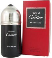 Pasha De Cartier EDITION NOIRE men cologne edt 3.3 oz 3.4 NEW IN BOX