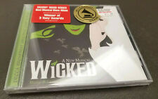 NEW Wicked A New Musical [Original Broadway Cast Recording] 2003 Idina Menzel CD