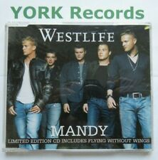WESTLIFE - Mandy - Excellent Condition CD Single RCA