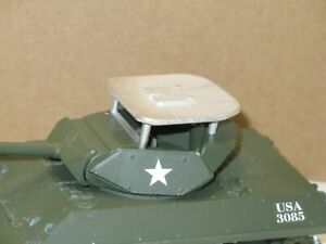 Solido, Roof Tank Metal Raw For Char M10 Destroyer Military USA