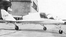 Payen Arbalète Experimental Aircraft Wood Model Big New