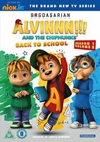 Alvin And The Chipmunks: Season 1 Volume 2 - Back To School [DVD][Region 2]