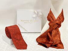 Warrina Design 100% Silk Scarf & Tie Couple Pack Authentic Aboriginal Design Art