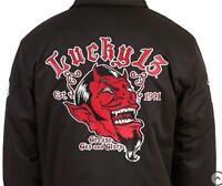 Lucky 13 Grease Gas Glory Mens Lined Jacket Motorcycle Biker Punk Chino M-4X