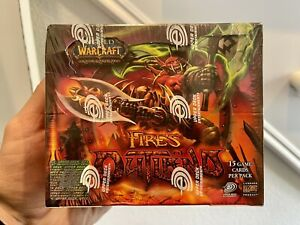 World of Warcraft Trading Card Game (WoWTCG) Fires of Outland sealed booster box