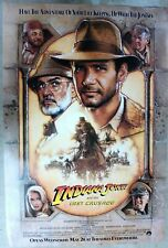 Indiana Jones and the Last Crusade 27x40 Ss Original Final poster Nm