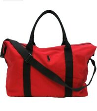 RALPH LAUREN Polo Red Men's Holdall/Travel/Gym/Weekend/Duffle Bag FREE SHIPPING
