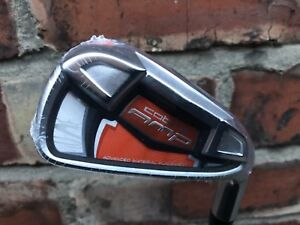 NEW MENS COBRA AMP 7 IRON GOLF CLUB SENIOR FLEX GRAPHITE SHAFT SO EASY TO USE
