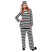 Fun World Adult Women's Lady Jail Prisoner Costume - Standard Size