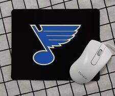 St. Louis Blues Mouse Pad-Black