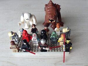 Lego Star Wars Figuren Konvolut MagnaGuard,Rancor, Jedis usw. Seltene Figuren