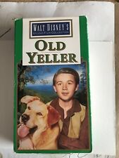 "STUDIO COLLECTION ""OLD YELLER"" VHS  Dorothy McGuire Fess Parker Chuck Conners"
