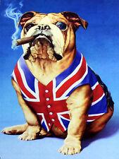 British Bulldog, Retro metal Aluminium Sign vintage / man cave