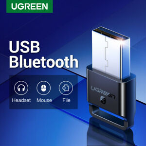 UGREEN USB Bluetooth 4.0 Adapter Wireless Dongle Transmitter and Receiver for PC