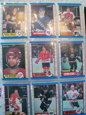 *1989-90 O-Pee-Chee Hockey Complete Set-Leetch &Sakic rookie cards