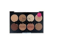 Technic Colour Fix Face Powder Cream Foundation Bronze Face Corrector Palette