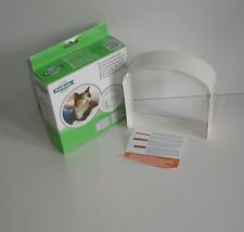 Petsafe Staywell White Tunnel Extension Compatible with Deluxe Cat Flaps 42038b