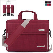 "15.6"" Laptop Notebook Sleeve Case Shoulder Bag Handbag for Lenovo Dell HP Red"