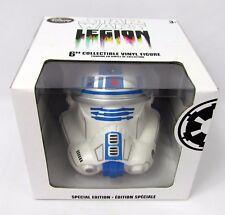 "Disney Star Wars 6"" Large R2D2 Stormtrooper Helmet VINYL Vinylmation Legion"