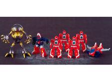 2003 Bandai Machine Robo Jet Robo Red Wings Rescue Unit 7 Vinyl Robot Figure JP