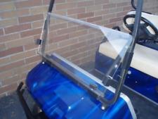 Club Car DS 2000.5 & Up CLEAR Windshield, 4mm Acrylic, Folding Flip Down
