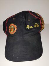 Pre-owned ~ Manchester United Football Club Umbro European Football Cap / Hat