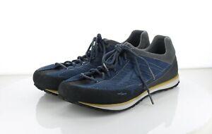 42-77 MSRP $80 Men's Sz 10.5 Altra Grafton Mesh & Suede Sneaker - Blue