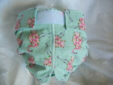 Female Dog Puppy Diaper Washable Pant Sanitary Underwear ROSE FLAMINGO SM/MED