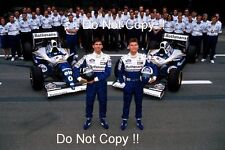 Damon Hill & David Coulthard Williams F1 Portrait 1994 Photograph