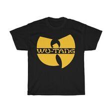 Wu Tang Clan Logo T Shirt Unisex Yellow Wu Tang Logo
