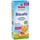 Holle Organic Fruit Biscuits Pear Apple - 125 g